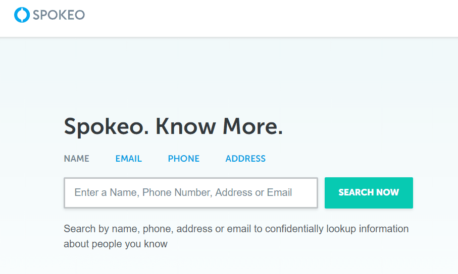 موقع Spokeo