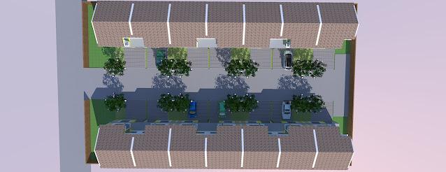 site plan perumahan residence
