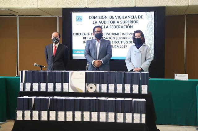 Comisión de Vigilancia recibió los Informes Individuales y General del Resultado de la Fiscalización Superior de la Cuenta Pública 2019