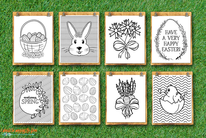 Easter Coloring Printables Sale