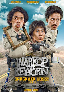 Download Warkop DKI Reborn : Jangkrik Boss! Part 1 (2016) DVDRip Full Movie