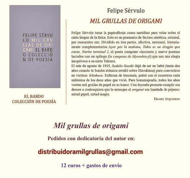 NUEVO LIBRO DE FELIPE SÉRVUO