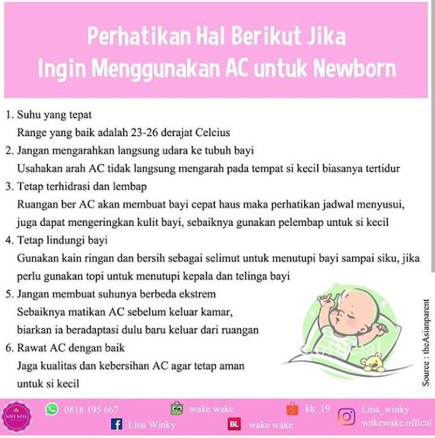 Penggunaan AC yang Tepat untuk Bayi Newborn