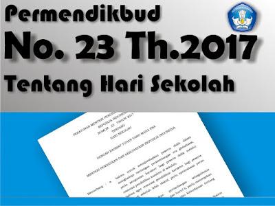 Download Permendikbud Nomor 23 Tentang Hari Sekolah 2017/2018