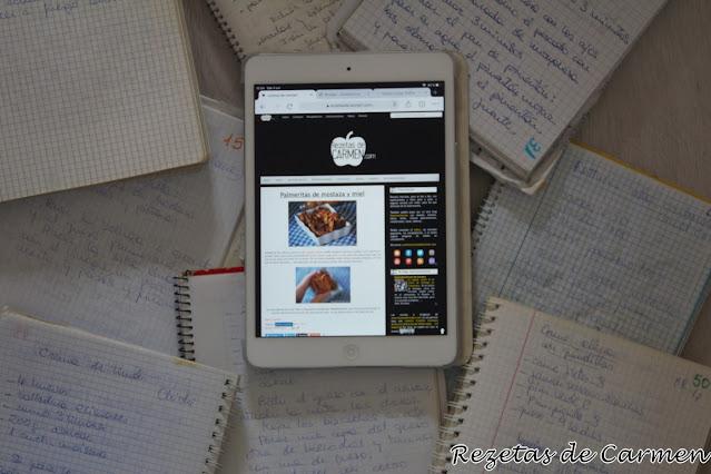 Nuevo diseño para www.rezetasdecarmen.com