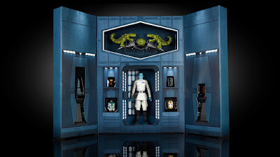 "San Diego Comic-Con 2017 Exclusive Star Wars The Black Series Grand Admiral Thrawn 6"" Action Figure by Hasbro"