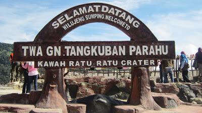 Wisata Tangkuban Perahu Bandung