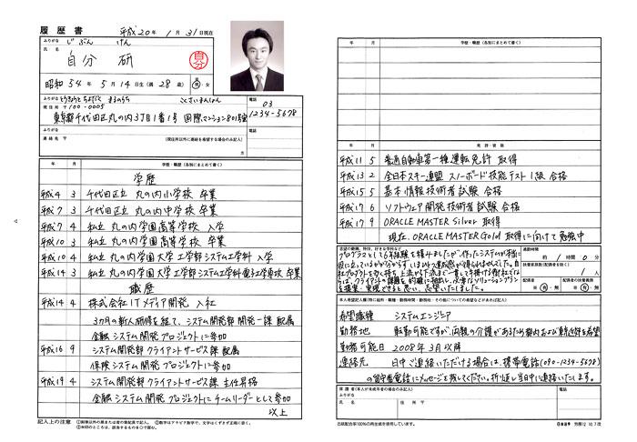 sample_good_l Japanese Resume Format on sample chronological, computer science, sample fresher, sample canadian, cover letter, 12th pass, for fresh graduates, for designers, for teacher,