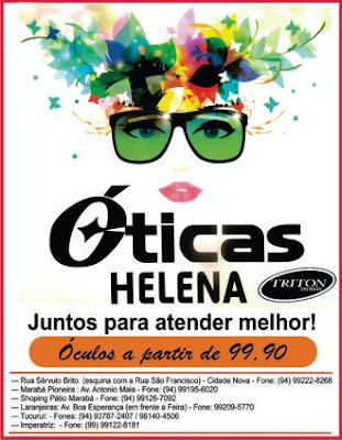 ÓTICAS HELENA E TRITON -- MARABÁ/PA