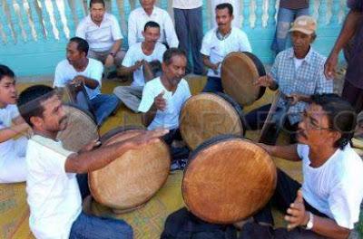 Rapai atau rebana Alat Musik Tradisional Aceh Beserta Penjelasannya