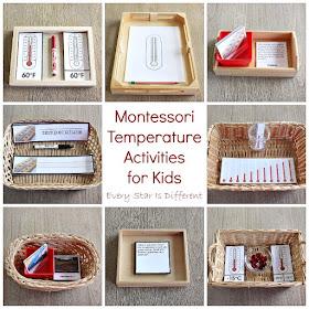 Montessori Temperature Activities for Kids