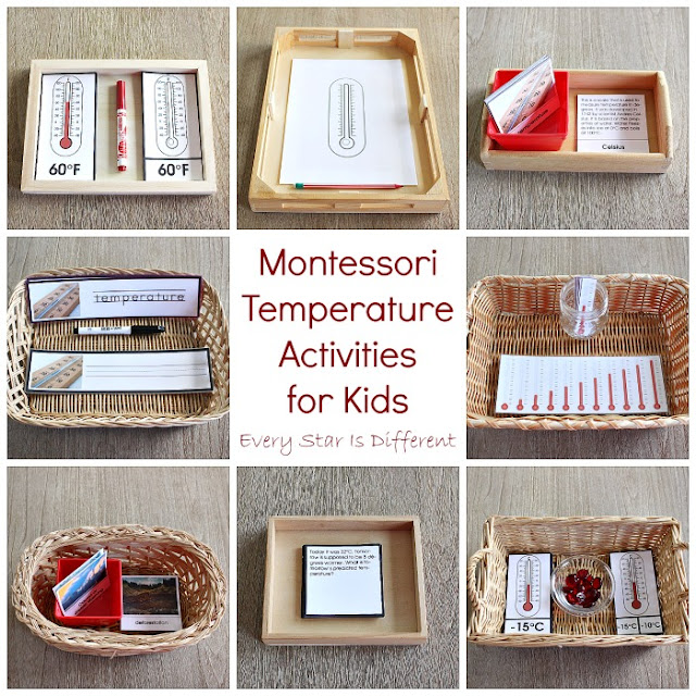 Montessori Temperature Activities for Kids