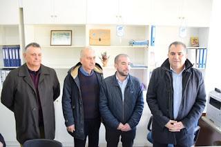 Το Bιοτεχνικό Πάρκο Kαλαμάτας επισκέφτηκε ο Δήμαρχος Θανάσης Βασιλόπουλος