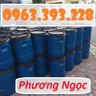Thùng phuy nhựa nắp mở đã qua sử dụng, thùng phuy có đai sắt Phuy_50L%2B9