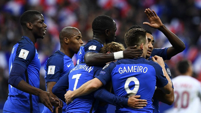 [Video] Cuplikan Gol Prancis 4-1 Bulgaria (Kualifikasi Piala Dunia 2018)