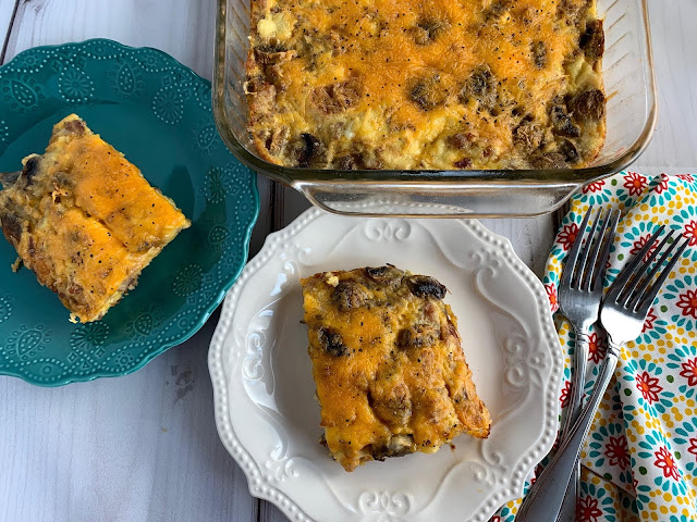 Edith's Breakfast Casserole