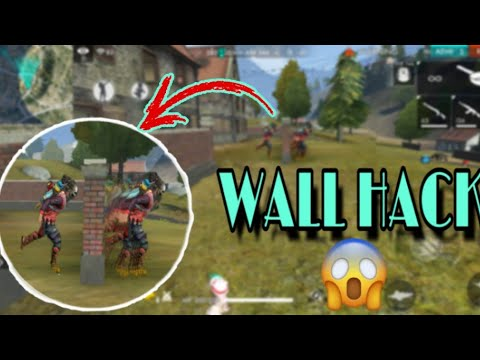 How to free fire wallhack?