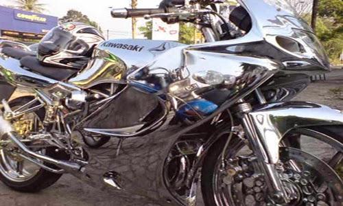 Gambar Modifikasi Kawasaki Ninja R 150 Terbaik 2015