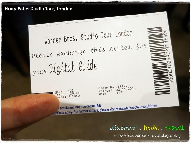 Harry Potter Studio Tour Ticket Deals