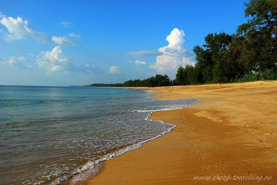 Уединённый пляж на Пхукете