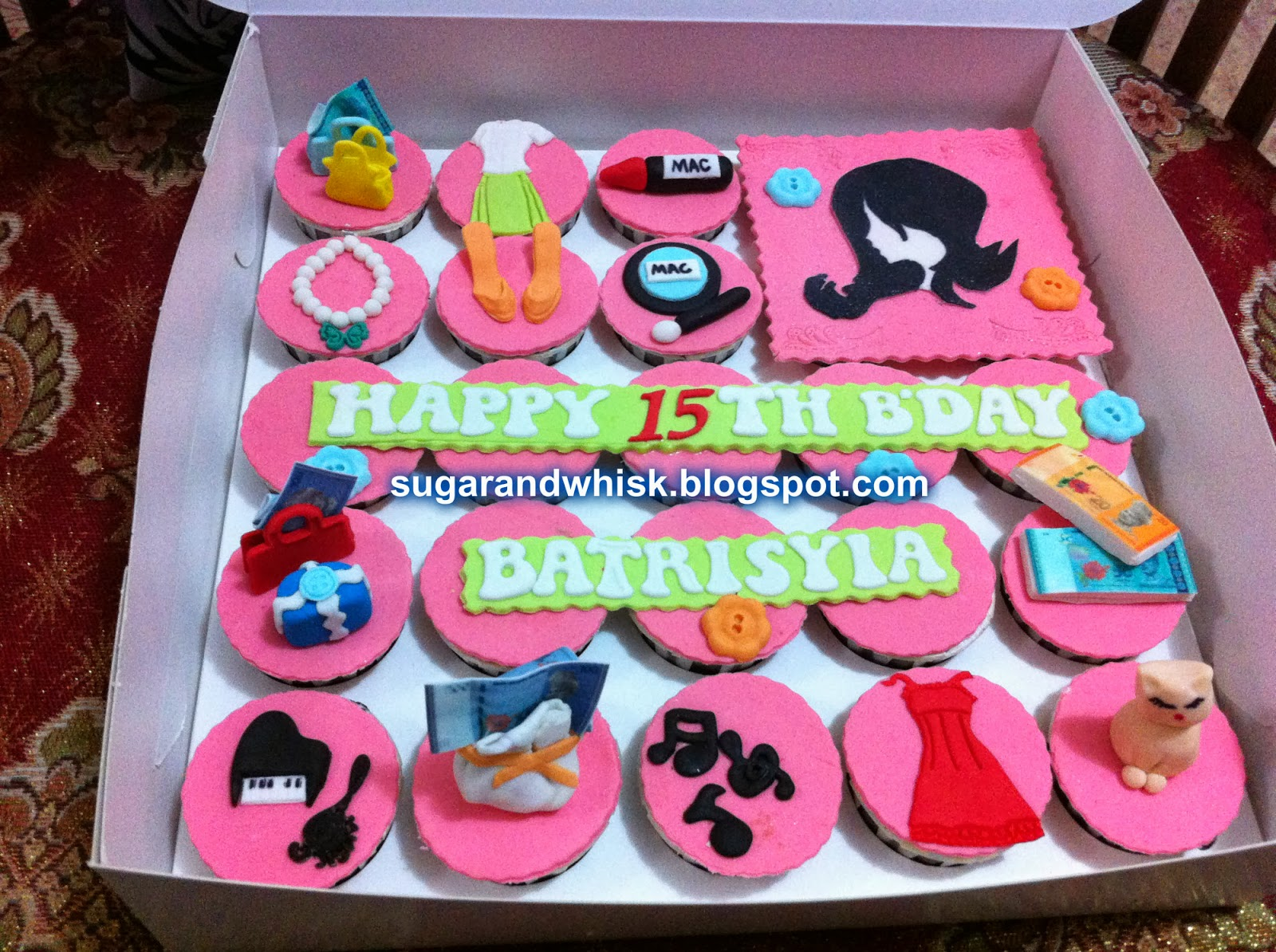 SUGAR And WHISK Cupcakes For Girls