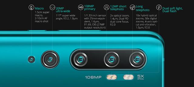 Xiaomi Mi Note 10 (CC9 Pro) - 108MP de fotografia em grande oportunidade