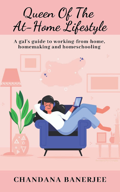 Woman lounging on a sofa at home and enjoying her stay-at-home life