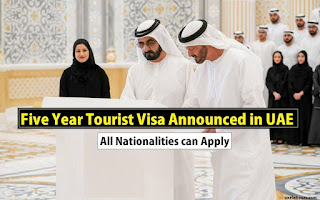 Five year tourist visa uae, uae five year tourist visa, uae 5 year year tourist visa fees