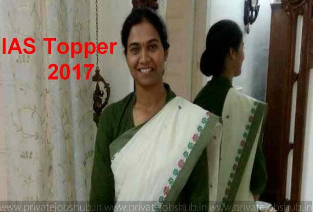 IAS Topper 2017