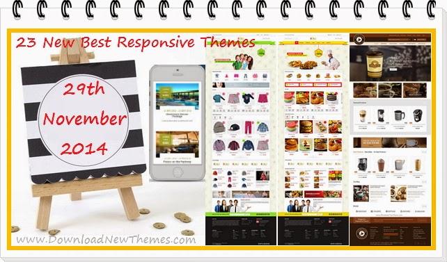 New Best Responsive Premium Themes