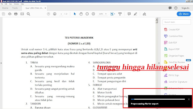 5 Langkah Cara Mengubah PDF ke Word