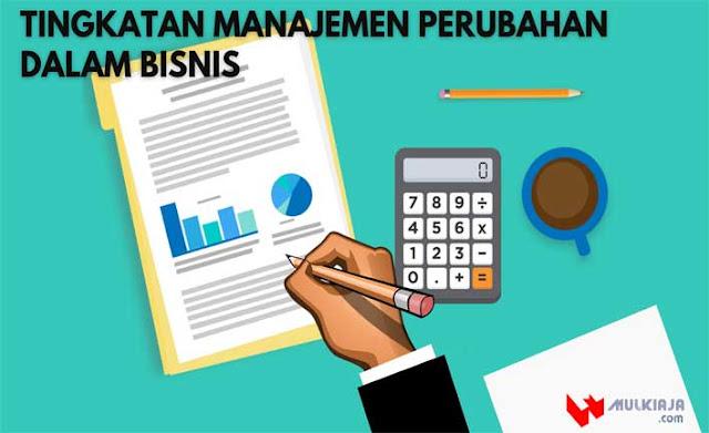 Tingkatan Manajemen Perubahan Dalam Bisnis