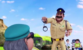 Ladoo Singh Memborgol Penjahat, borgol, ladoo singh, shiva antv
