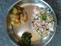 Mappillai Samba rice poha Coconut rice