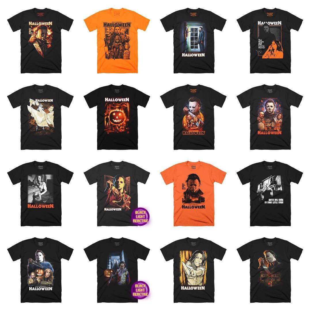 Image result for halloween movie t shirts collection