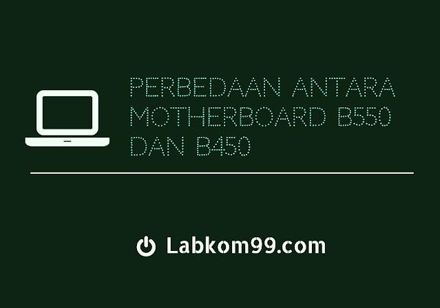 Perbedaan Antara Motherboard B550 Dan B450 Labkom99.Com - Dalam hal penamaan, motherboard B550 merupakan versi motherboard B450 yang diupgrade spesifikasinya. Sebelumnya, AMD juga merilis dua CPU Ryzen R3 3100 / 3300X. Melengkapi layout lini produk arsitektur AMD Zen 2 dan kemudian juga merilis motherboard B550.  Namun, motherboard B550 tidak dijual secara bersamaan, tetapi mengatur waktu penjualan. Jadi apakah motherboard b550 jauh lebih baik daripada motherboard b450? Mari berbagi pengetahuan tentang perbedaan antara motherboard B450 dan B550.  Mari kita lihat parameter motherboard B550 dan B450, dan dapatkan pemahaman awal tentang perbedaan antara keduanya.   Keterangan : Dibandingkan dengan motherboard B450, sorotan terbesar dari motherboard B550 adalah mendukung chipset PCIe 4.0, dan semua PCIe 2.0 yang disediakan oleh chipset ditingkatkan ke PCIe 3.0. Chipset CPU dan grafik dari motherboard B550 ditingkatkan dari PCIe 3.0 ke PCIe 4.0.   Selain mendukung AMD CrossFire dual-card crossfire, B550 juga mendukung dual-card AMD dan nvidia crossfire, namun saat ini masyarakat jarang menggunakan dual graphics card. Selain itu, perlu dicatat bahwa motherboard B550 hanya didukung oleh CPU 8Pin, disarankan untuk menggunakan CPU Ryzen R7 ke bawah.  Apakah motherboard b550 lebih baik dari motherboard b450?  Perbedaan antara motherboard B450 dan B550 dibandingkan dengan pengetahuan sains populer  Walaupun generasi ketiga Ryzen baru saja meluncurkan motherboard B450 yang menyediakan BIOS, motherboard ini dapat menggunakan 16 channel (kartu grafis) + 4 (NVMe SSD) PCIe 4.0 yang diturunkan dari CPU. Namun karena motherboard tersebut tidak didesain agar kompatibel dengan PCie 4.0 , AMD kemudian melarang dukungan motherboard 400 series melalui BIOS.  Rekomendasi pembelian motherboard B450 dan B550  Jika Anda mempertimbangkan mengugunakan CPU AMD Ryzen R5 3600X atau lebih rendah. Tidak mempertimbangkan menggunakan solid-state PCIe 4.0 berkecepatan tinggi. Niscaya anggap saja mother