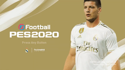 PES 2020 Real Madrid Menu Mod by Hawke