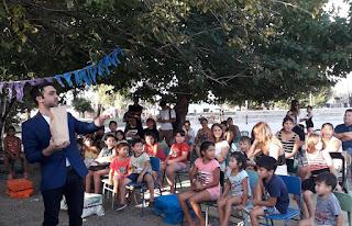 Vecinos y Familias disfrutaron de Ajedrez, Magia y Música en el festival de Vuelta a Clases de Monte Chingolo