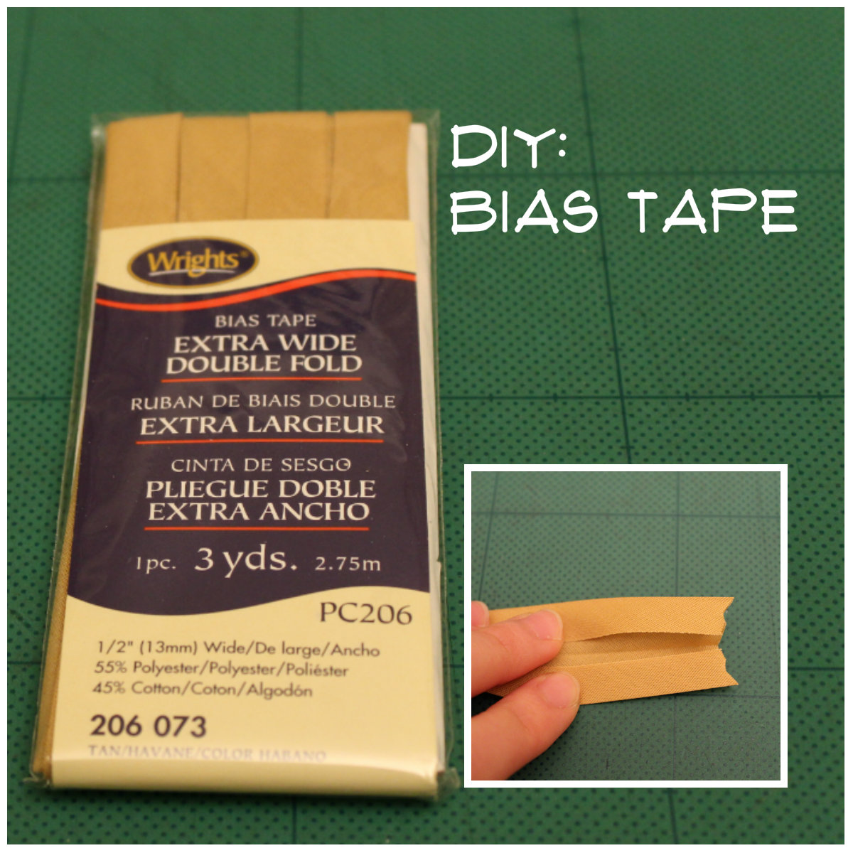 From Woo To You: DIY: Bias Tape