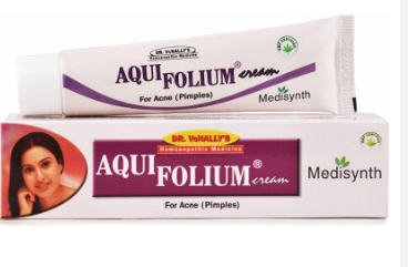 Aquifolium cream.