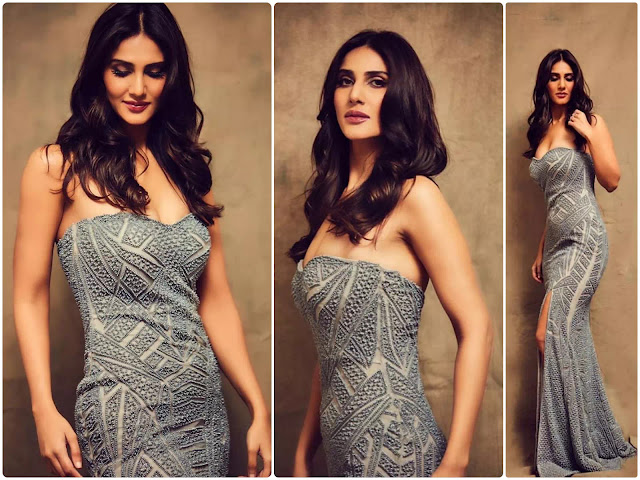 Vaani Kapoor Black Intense Waves