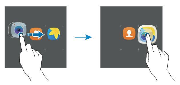 come aggiungere nuova cartella Samsung Galaxy J3