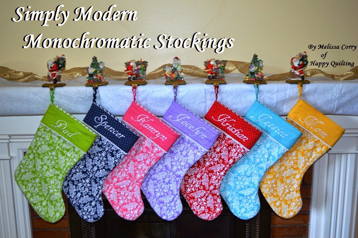 Quilt inspiration free pattern day christmas stockings for Simply stockings