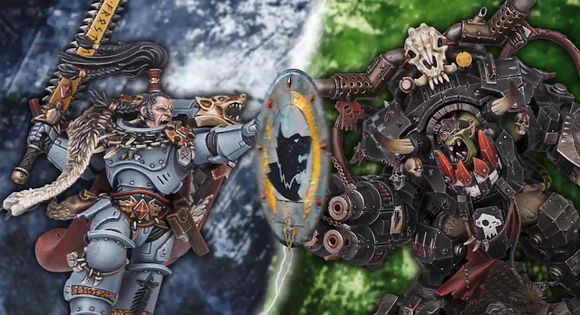 Ragnar Blackmane vs Ghazghkull Thraka
