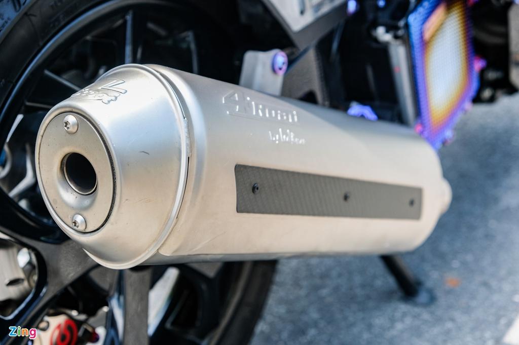 Honda Click với gói độ 170 triệu đồng tại TP.HCM