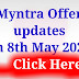 Get up to 60% off on myntra shopping on 8th may 2021 , cloth for men and women