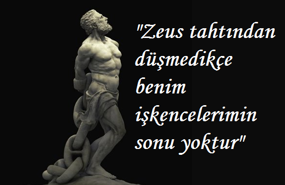 aiskhylos zincire vurulmuş prometheus