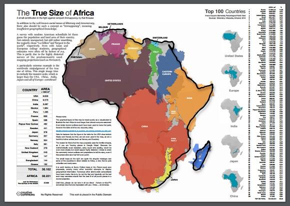 TruesizeofAfrica