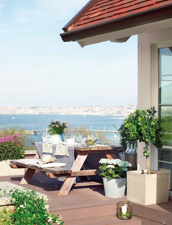 casa con vistas a la bahía de Santander