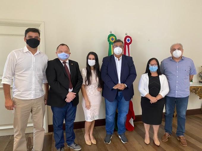 Deputado Paulo Neto garante 3 milhões de Asfalto para Chapadinha, Duas Escolas da Rede Estadual de Ensino, Conclusão da Obra do IEMA e Ampliação dos Leitos de Hemodiálise no Hospital Regional.